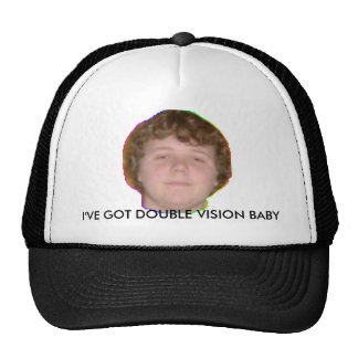 TFMAN22, I'VE GOT DOUBLE VISION BABY TRUCKER HAT