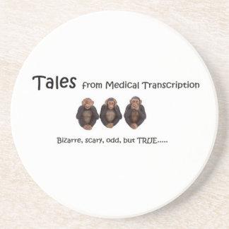 TFMT White Coasters