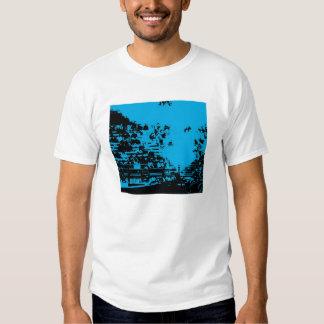 TFP Blue Crowd Tee Shirt