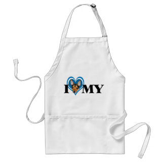 TFT Blue Heart Apron