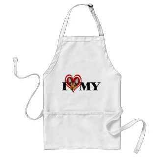 TFT Red Heart Apron