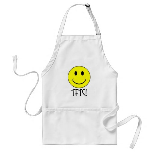 TFTC with Smiley Aprons