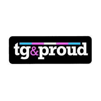 Tg&proud Black Label