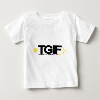 "TGIF ""agradecen a dios que soy filipino "" Tshirt"