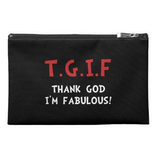 TGIF Fabulous Travel Accessories Bag
