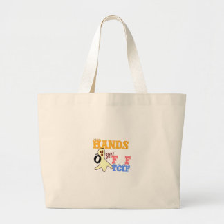 TGIF fRIDAY COLORS.png Jumbo Tote Bag