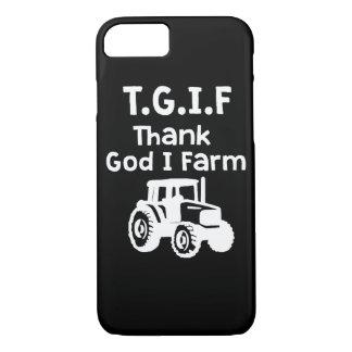 TGIF - Thank God I farm iPhone 8/7 Case