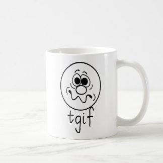 TGIF whit Coffee Mug