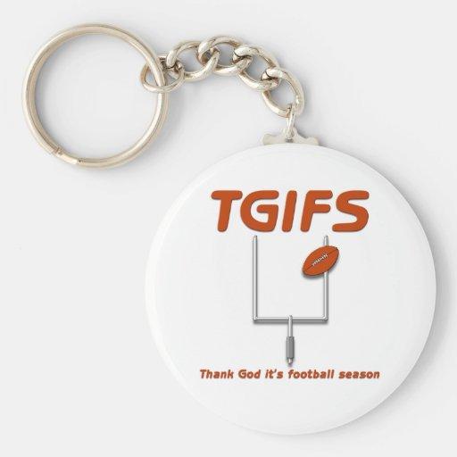 TGIFS -- Agradezca a dios que es la estación de fú Llaveros Personalizados