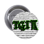 TGIPI - THANK GOD IT'S PI DAY! MARCH 14TH 3.14 BUTTONS