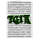 TGIPI - THANK GOD IT'S PI DAY! MARCH 14TH 3.14 GREETING CARD