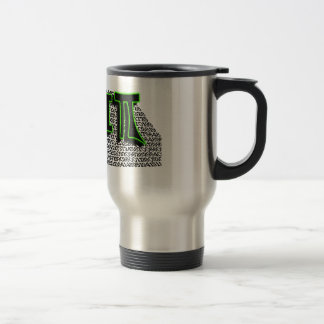 TGIPI - THANK GOD IT'S PI DAY! MARCH 14TH 3.14 15 OZ STAINLESS STEEL TRAVEL MUG