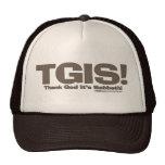 TGIS Sabbath design Trucker Hat
