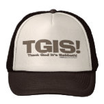 TGIS Sabbath design Trucker Hats