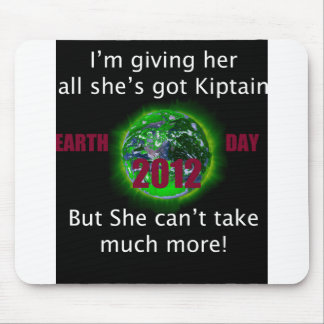 TGR EARTH DAY 2012 MOUSE PAD