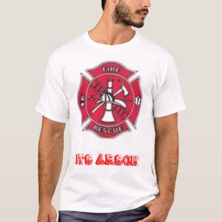 th_644260367_s, ITS ARSON T-Shirt