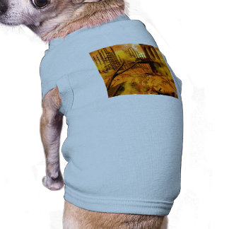 Th apocalypse doggie tee shirt