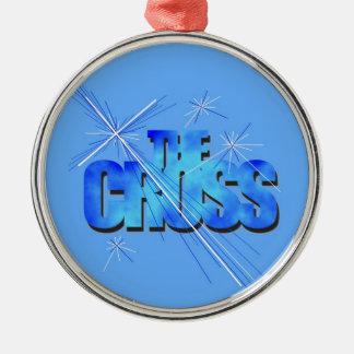 Th Blue Cross Christmas Tree Ornaments