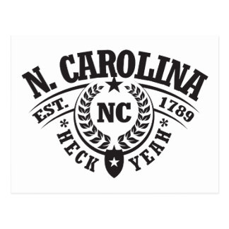 th Carolina, Heck Yeah, Est. 1789 Postcard