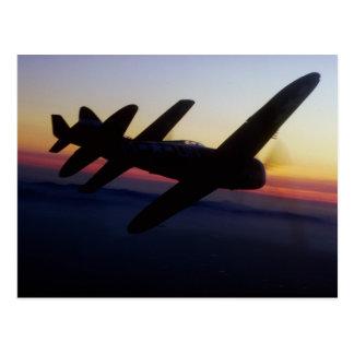 """Th de la república P-47 del """"mustango P-1 norteame Tarjetas Postales"""