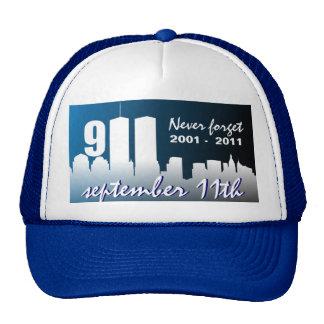 Th del 9 /11 de septiembre de 11 - 10mo gorra del