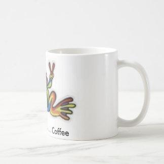 th_frogg, Peace ... Love ... Coffee Coffee Mug