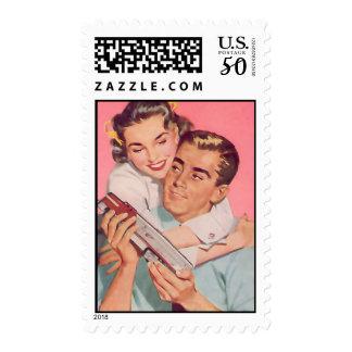 Th Kitsch Bitsch : Vintage Couple Graphic Postage