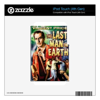Th Last Man on Earth iPod Touch 4G Decal