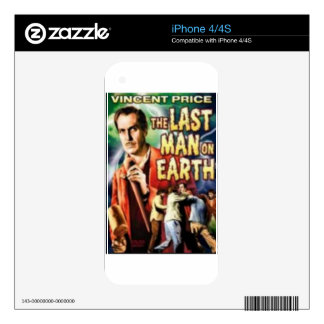 Th Last Man on Earth Skin For iPhone 4