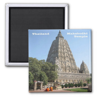 TH - Thailand - Mahabodhi Temple Magnet