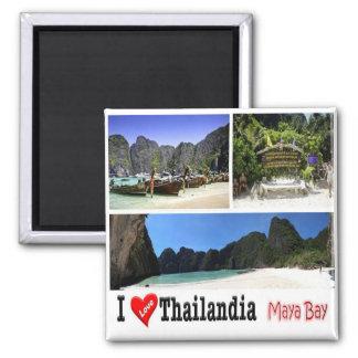 TH - Thailand - Maya Bay Krabi - I Love Magnet
