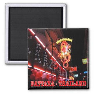 TH - Thailand - Pattaya - Night Club 2 Inch Square Magnet