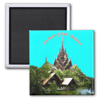 TH - Thailand - Pattaya - Sanctuary of Truth Magnet