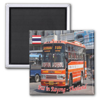 TH - Thailand - Rayong - Bus Magnet