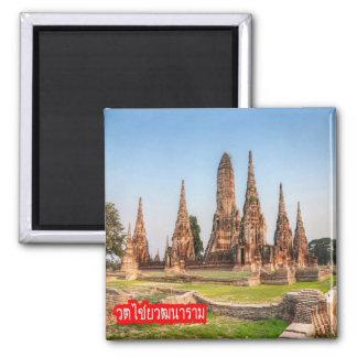 TH - Thailand - Wat Chaiwatthanaram Magnet