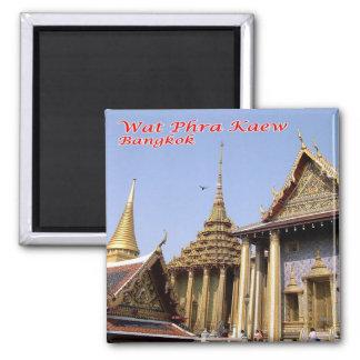 TH - Thailand Wat Phra Kaew Sacred Buddhist temple Magnet
