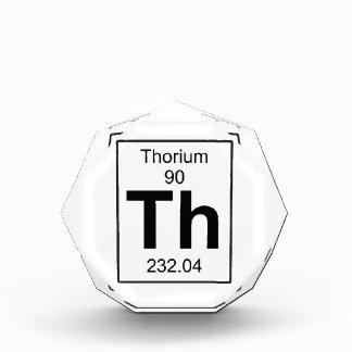 Th - Thorium Acrylic Award