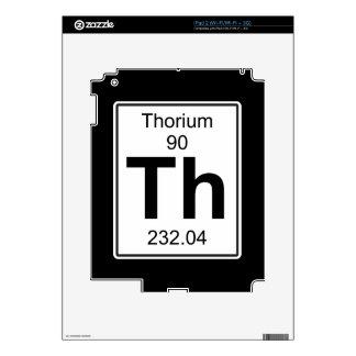 Th - Thorium iPad 2 Skin