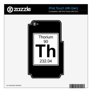 Th - Thorium Skin For iPod Touch 4G