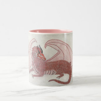 Tha Dragon Cometh Two-Tone Coffee Mug