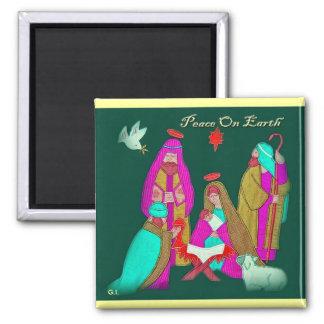 Tha Nativity Scene-2 Magnet