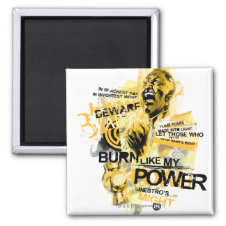 Thaal Sinestro 10 2 Inch Square Magnet