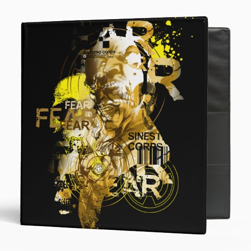 Thaal Sinestro 11 Vinyl Binders