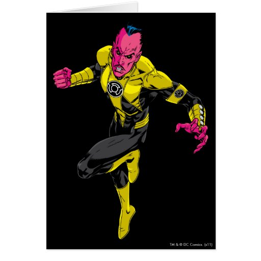 Thaal Sinestro 1 Greeting Card