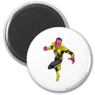 Thaal Sinestro 1 2 Inch Round Magnet