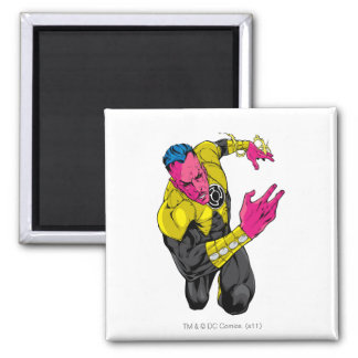 Thaal Sinestro 7 2 Inch Square Magnet