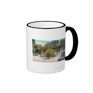 Thacher School Pergola ViewOjai, CA Coffee Mug