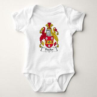 Thacker Family Crest Baby Bodysuit