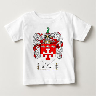 Thacker Family Crest - Thacker Coat of Arms Baby T-Shirt