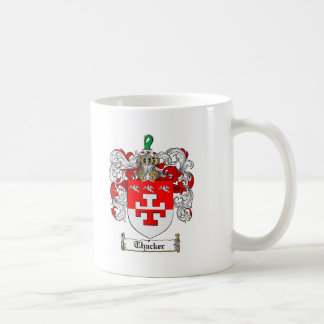 Thacker Family Crest - Thacker Coat of Arms Coffee Mug